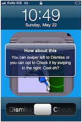 Notification iOS 5