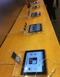 iPad présentation Apple Store
