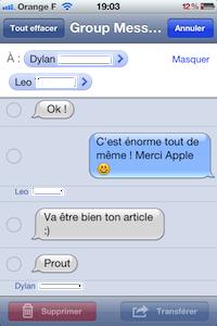 GroupMessage SMS