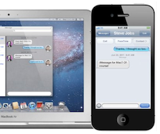 iMessage MacOS X