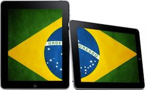 iPad Brésil