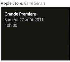 Carré-Sénart Apple Store
