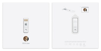 Clef USB Lion X