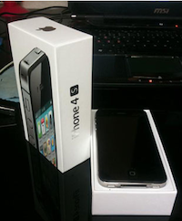 iPhone4GS Allemagne