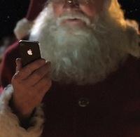 Pere-Noël-iPhone