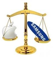 Samsung Apple Balance
