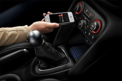 Chrysler charge iPhone