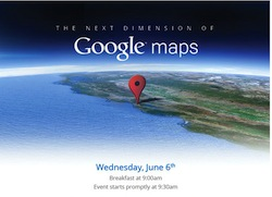Google Maps Invit