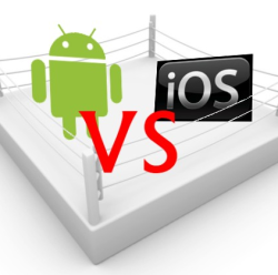 iOS vs Android une