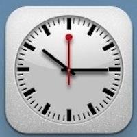 Horloge iPad iOS 6