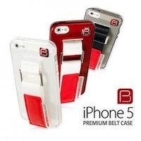 BELT CASE iPhone 5 logo