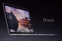Macbook Pro 13 keynote Apple