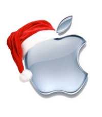 apple logo noel