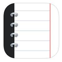Notebooks 7 for iPhone logo