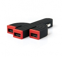 Chargeur Allume-Cigare Fonemax X-Power Cactus Triple USB 4.2A 2 logo