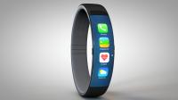 concept iWatch bracelet logo