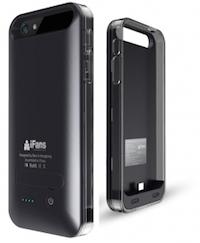 Coque Batterie Ultra Slim iFANS 2400mAh pour iPhone 5 : 5S (Noir : Certifiée Apple) 2