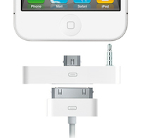 Dock iPhone logo