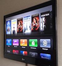 Apple TV intégrée TV