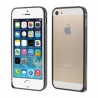 Bumper Rock Buckle Closure Aluminium Slim pour iPhone 5 : 5S logo