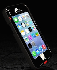 Coque de Protection ANTI-CHOC Patchworks LINK PRO pour iPhone 5S:5 logo