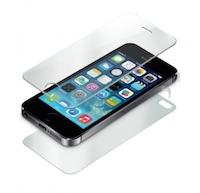 Protection Intégrale en Verre Trempé USG IMPOSSIBLE PRO+ FULL BODY (Avant:Arrière:Côtés) pour Apple iPhone 5:5S logo