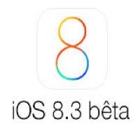 iOS 8.3 b1 une
