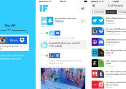 Test de la semaine : l'application IF by IFTTT