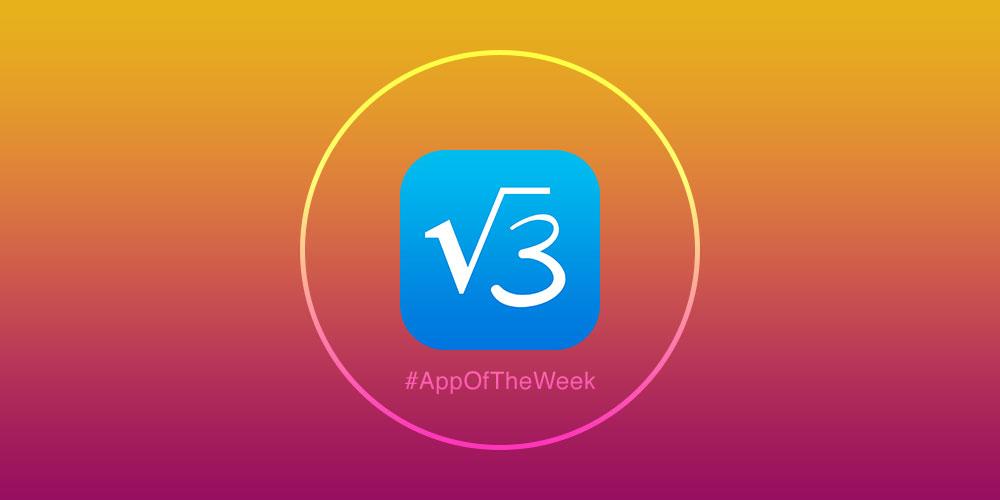 app4phone appli de la semaine App de la semaine : MyScript Calculator