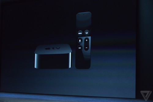 apple tv 4 500x334 Résumé keynote (iPhone 6S, iPad Pro, Apple TV 4, watchOS 2...)