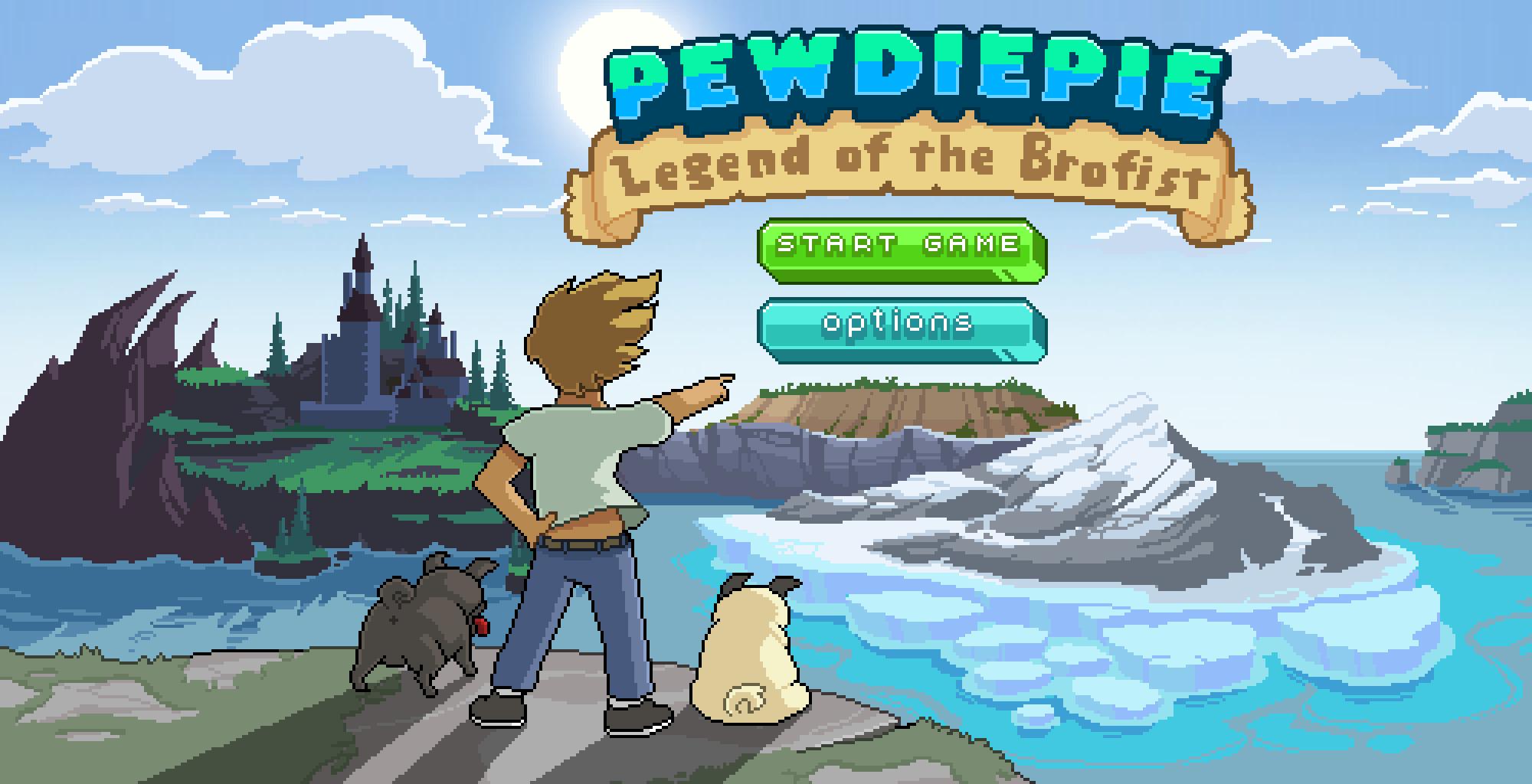 pewdiepie game screen Nous avons testé pour vous PewDiePie: Legend of the Brofist