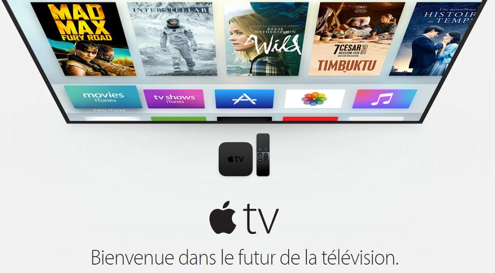 Apple TV 2015 LApple TV 4 est enfin officielle et ouverte à la pré commande