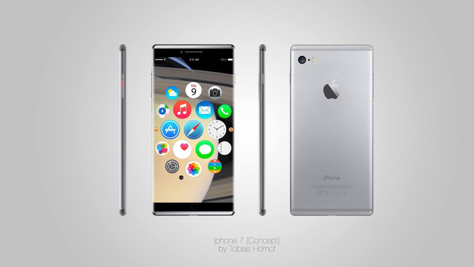 iPhone 7 concept tobias hornof 01 Design : liPhone 7 a déjà son concept