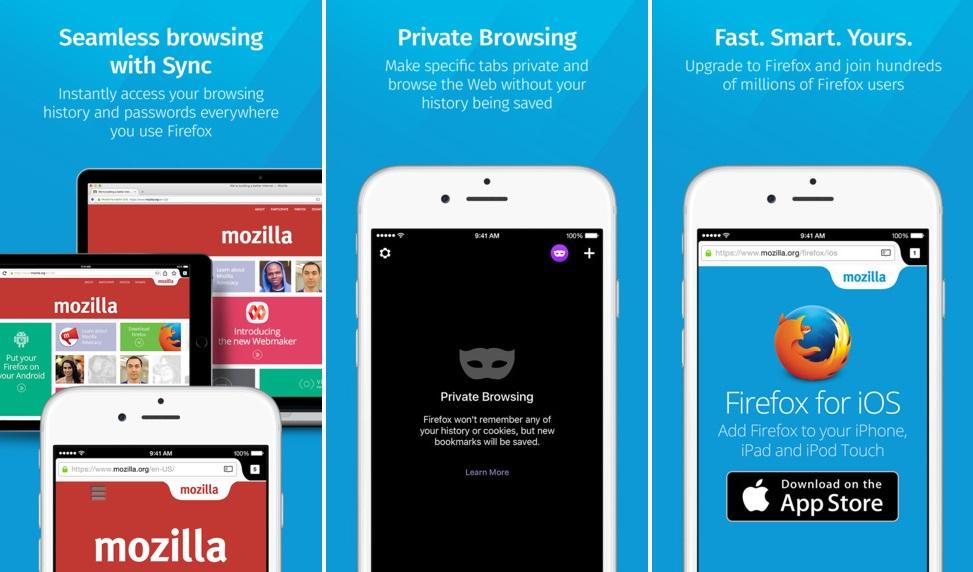 Firefox débarque enfin sur lApp Store !