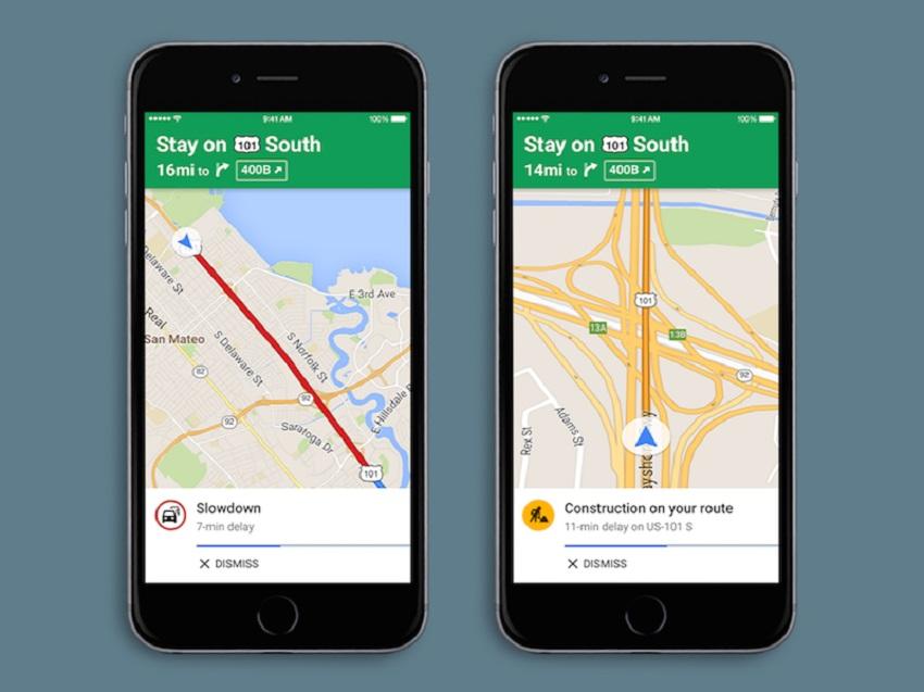 google maps spoken Google Maps pour iOS : mise à jour et ajout des alertes vocales