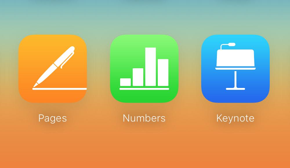 iworks Pages, Numbers & Keynote ont été mis à jour !