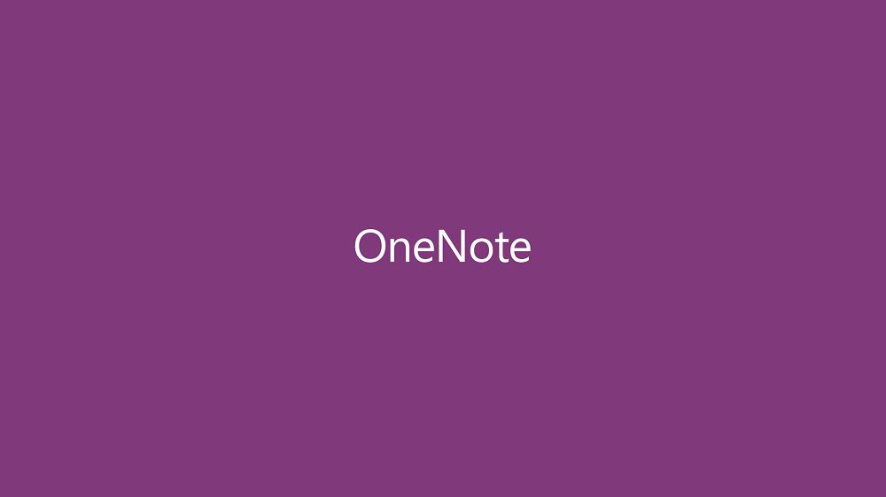onenote1 Microsoft OneNote se met à la 3D Touch
