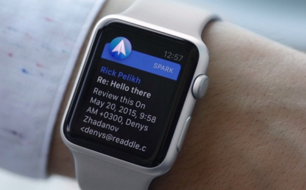 spark apple watch Spark : version 1.3 et support du protocole Exchange