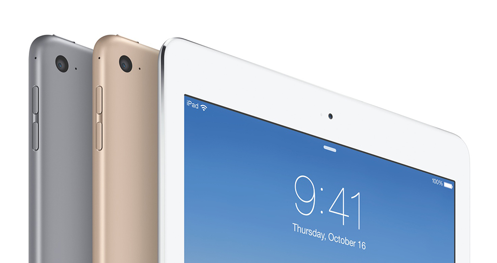iPad Air 2 Lock screen 1 Un écran 4K, 4 Go de RAM et une meilleure batterie pour liPad Air 3