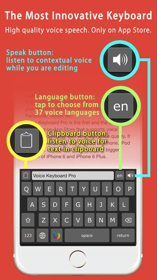 Voice Keyboard Pro ™