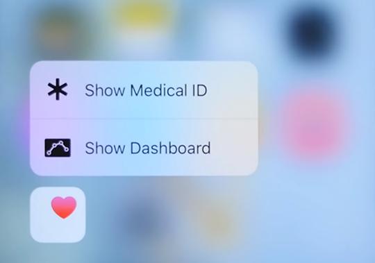 action rapide sante iOS 9.3 se rapproche encore de sa sortie publique