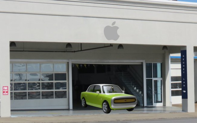 apple garage e1455286577765 Apple Car : des bruits de moteur sur le campus de Sunnyvale !