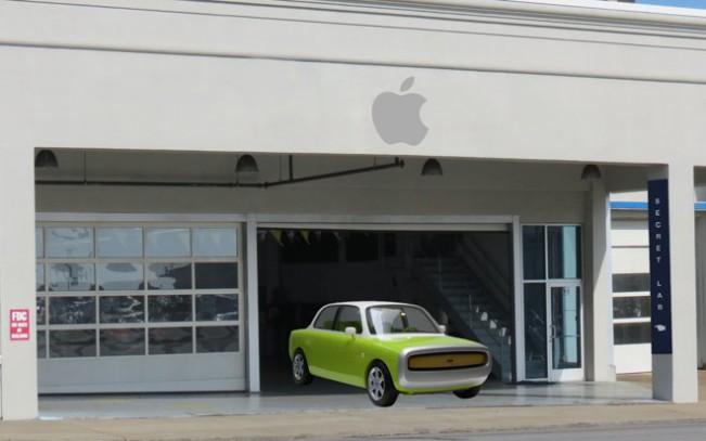apple garage e1455286577765 Apple Car : des bruits de moteur sur le campus de Sunnyvale !