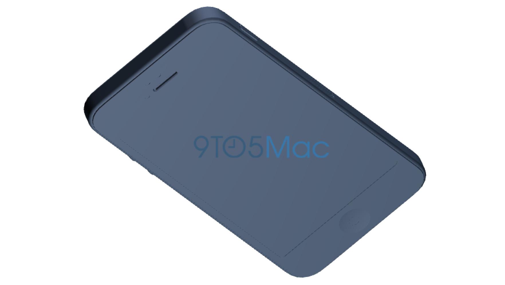 iphone5se Le supposé design du nouvel iPhone de 4 pouces