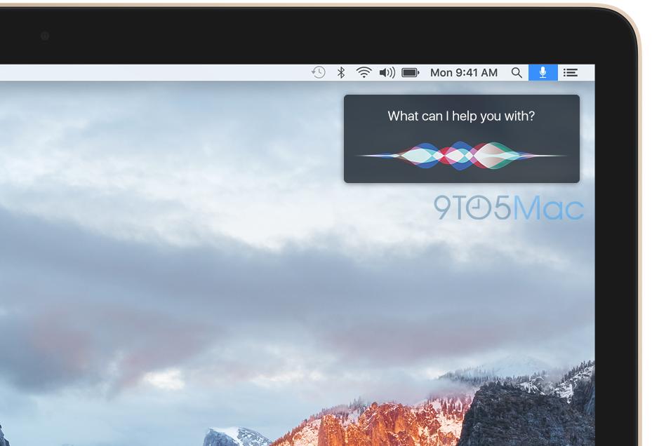 siri for mac Siri débarquera finalement sur Mac avec OS X 10.12