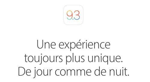 ios 9.3 500x273 iOS 9.3.1 est disponible ! Les bugs sont corrigés