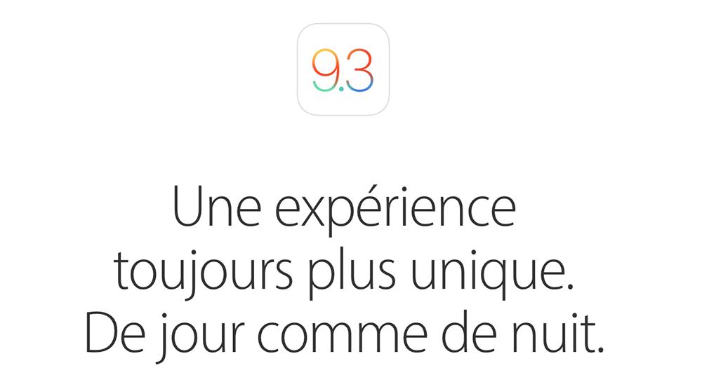 ios 9.3 Comment activer un iPhone ou un iPad après mise à jour vers iOS 9.3