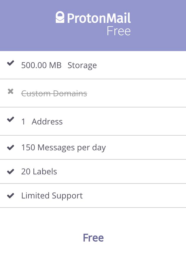 protonmail free ProtonMail, une application gratuite pour envoyer et recevoir des mails cryptés