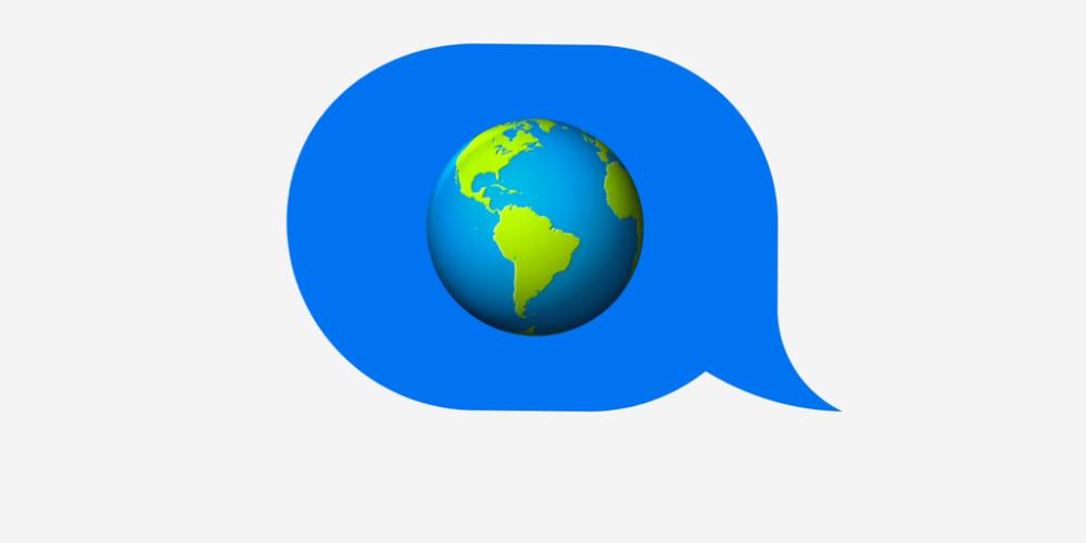 imessage e1461345899238 Apple présente ses démarches écologistes pour le Earth Day