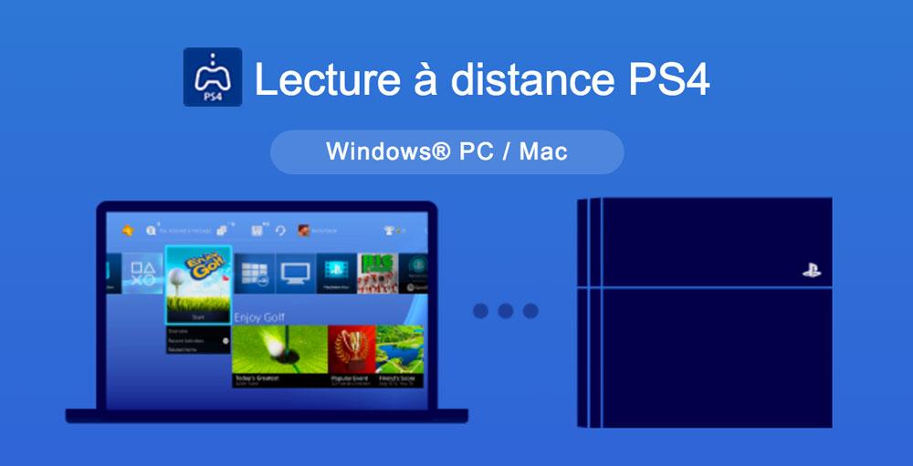 ps4 mac pc jeux streaming Jouer à vos jeux PS4 sur votre Mac ou votre PC devient possible